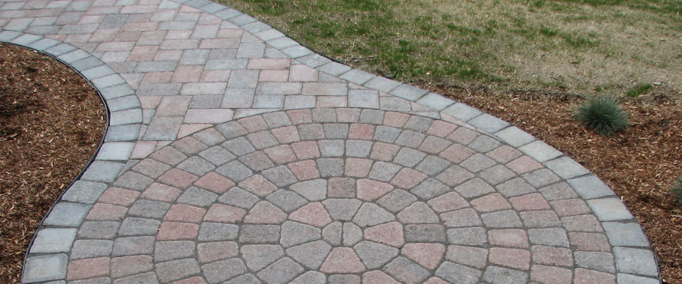 Paver Brick Patio Circle Pac